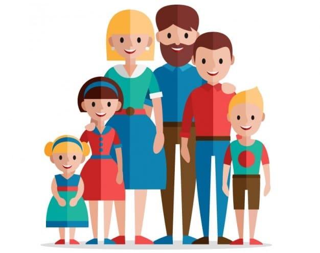 топик по английскому языку на тему семья