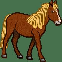 horse/лошадь
