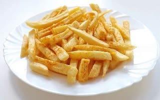 Fried potatoes/жареный картофель