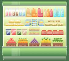 супермаркет/supermarket