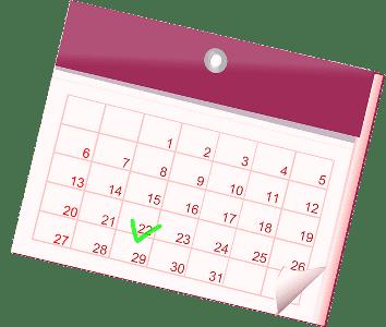 календарь - дни недели по английски с переводом и транскрипцией