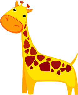 text about giraffes