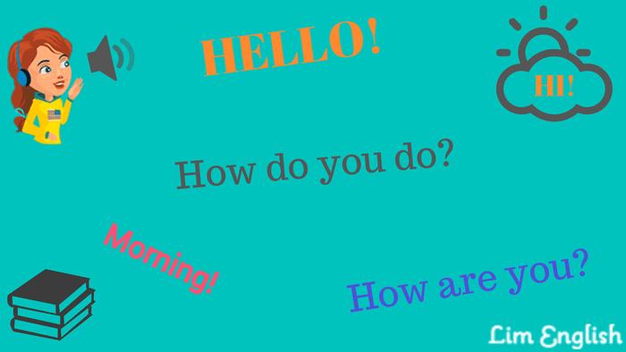 как поздороваться по-английски