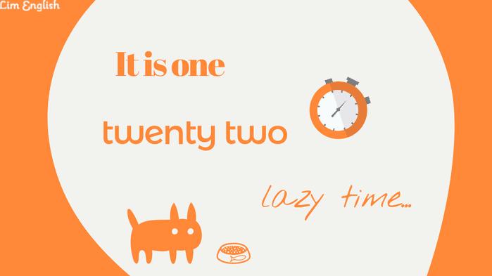 как сказать время на английском