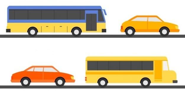 транспорт на английском