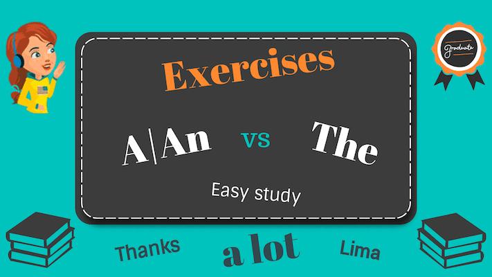 упражнения на артикль в английском языке