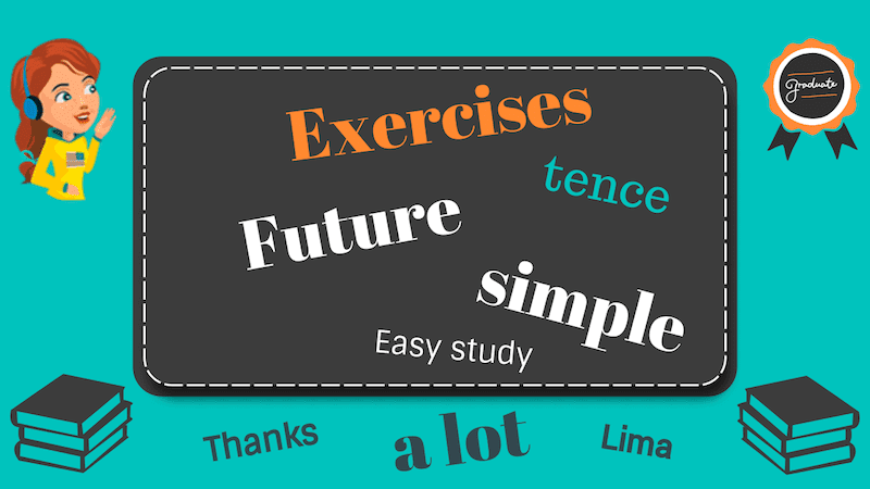 упражнения на будущее простое время