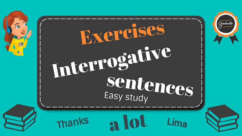 Упражнения на вопросительные предложения в английском