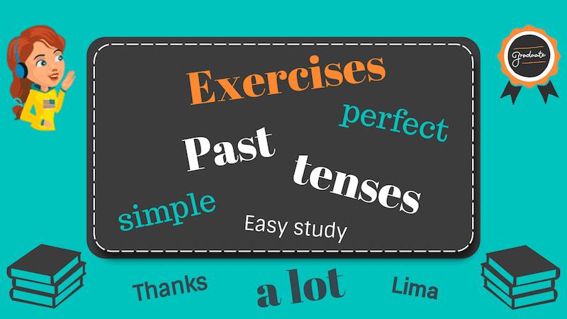 времена past в английском языке упражнения