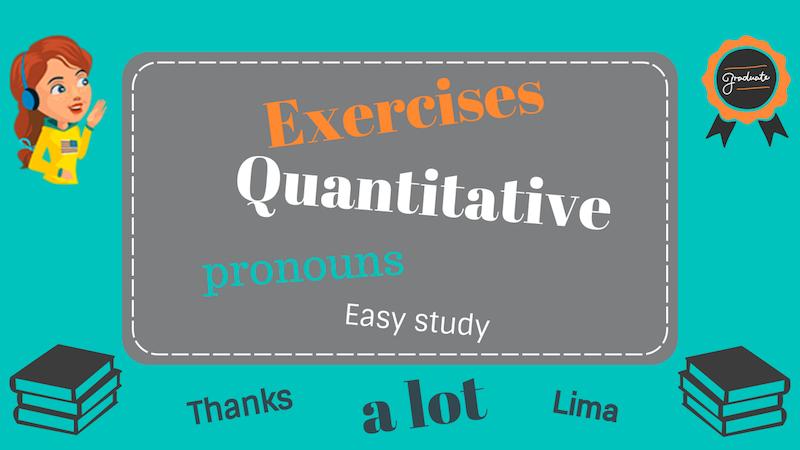 количественные местоимения в английском языке упражнения