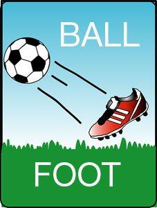 как по-английски пишется футбол