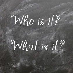 Как задавать вопросы в английском языке: Who и What
