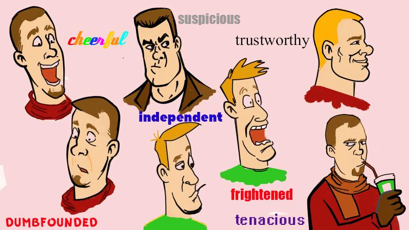 описание характера человека на английском