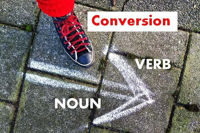 конверсия в английском - иллюстрация