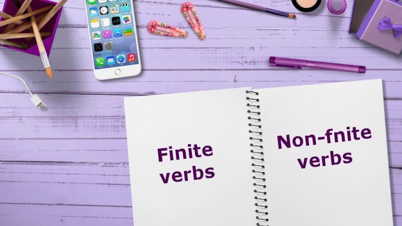 личные и неличные формы глагола
