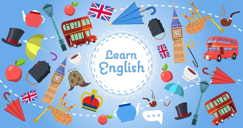 изучение английского языка - иллюстрация