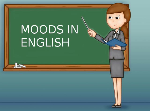 Наклонения в английском иллюстрация