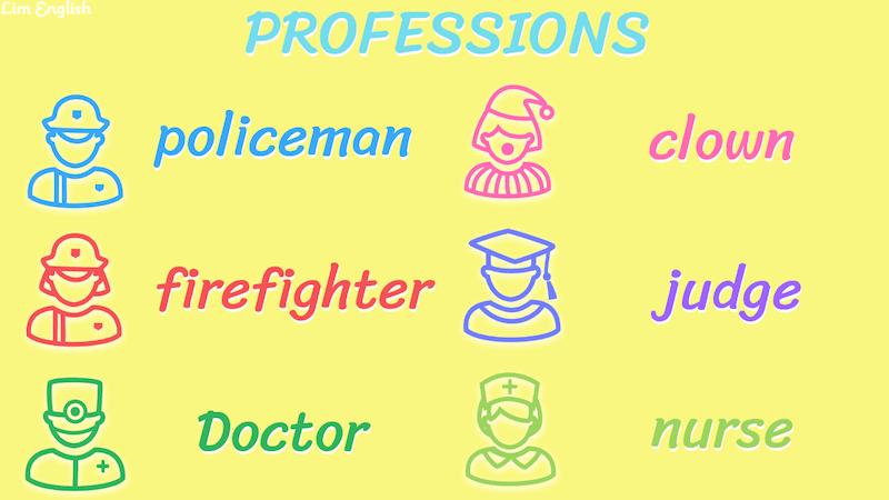 профессии на английском языке