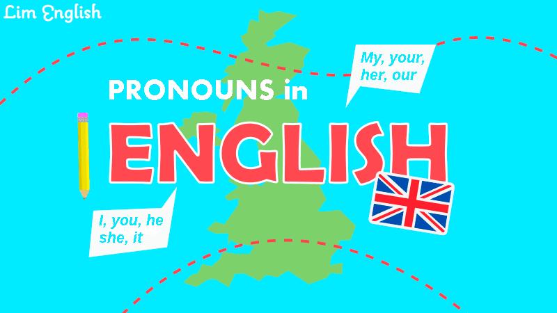 местоимения в английском языке