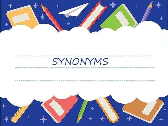 синонимы в английском