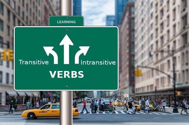 переходные и непереходные глаголы