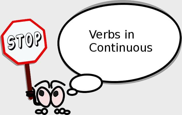 Глаголы которые не употребляются в Continuous - картинка к статье