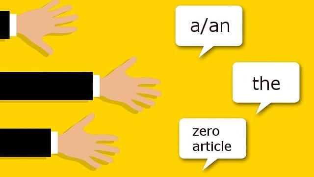 нулевой артикль в английском - иллюстрация для статьи