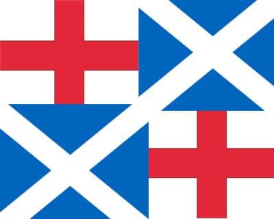 флаг Англии во времена Кромвеля 1651—1658