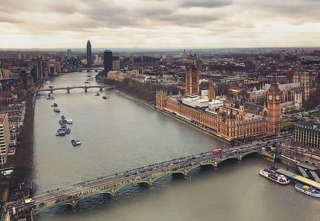 общий вид Лондона