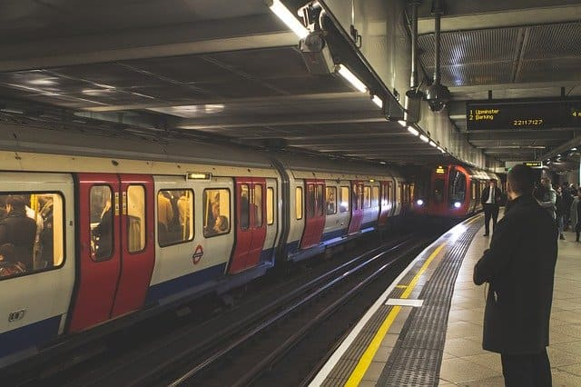 современное метро Лондона