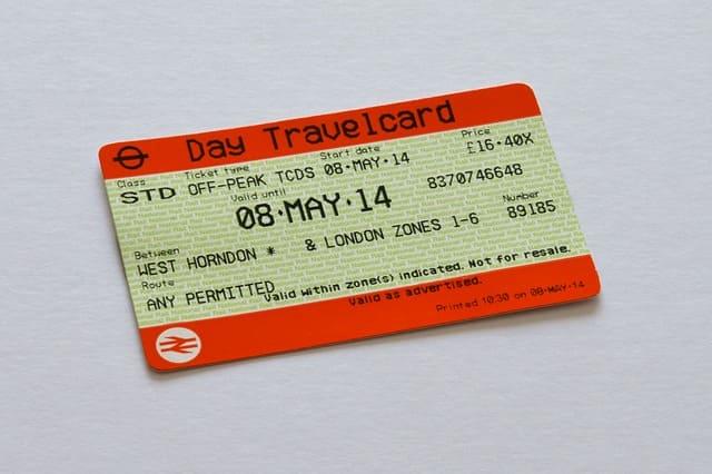 проездной билет на лондонское метро