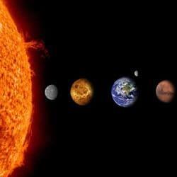 Космос на английском языке - планеты солнечной системы ...